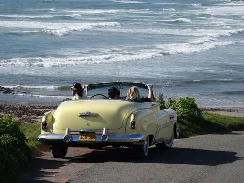 1952 Buick Convertible for hire