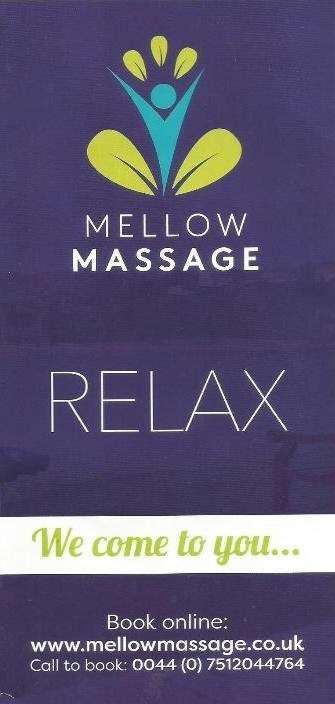 Mellow Massage Freshwater East Pembrokeshire